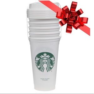 5 pack Starbucks reusable cups